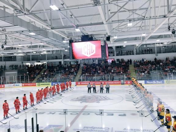 Cardiff Devils vs HC Davos