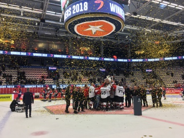 JYP Jyväskylä Champions Hockey League WINNERS 2018